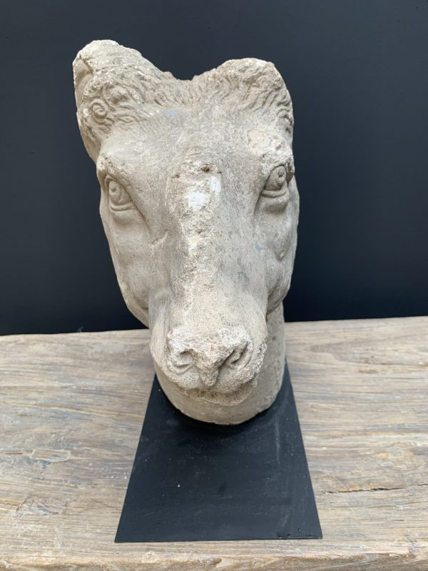 Antique stone statue
