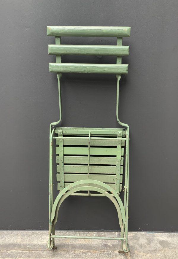 Unieke antieke bistro stoeltjes uit de Antwerpse ZOO, ca 1910