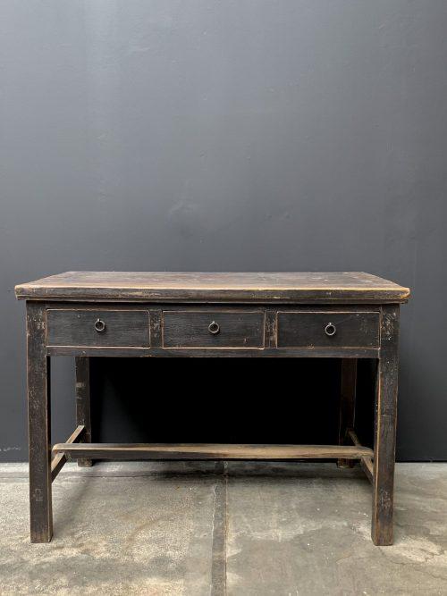 Antieke houten tafeltje /bureau