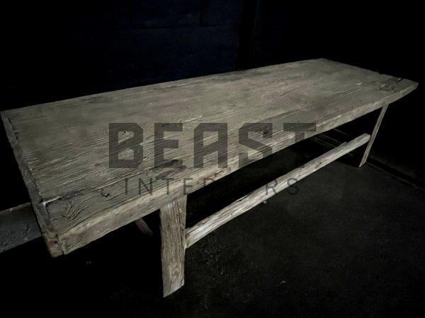 Fraaie geleefde salontafel