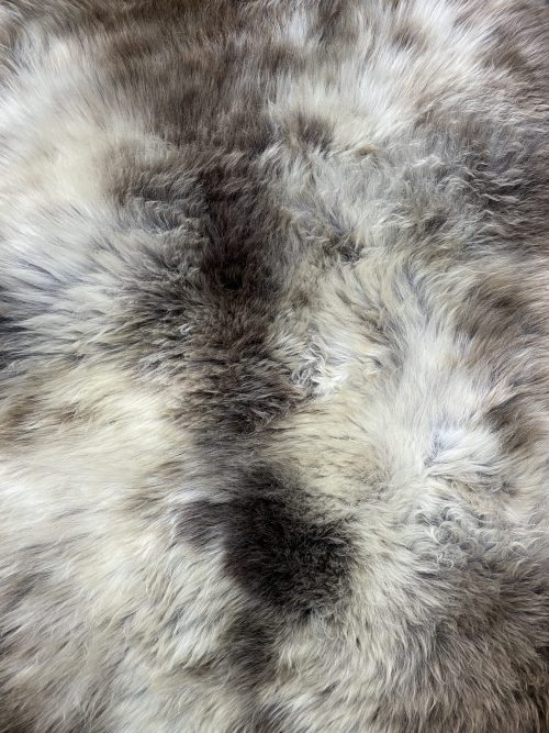 Sheepskin  with natural tones