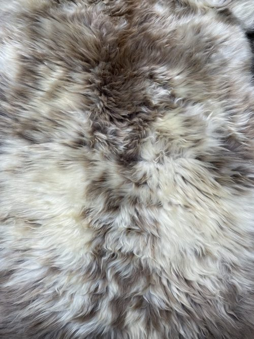 Sheepskin in natural colors