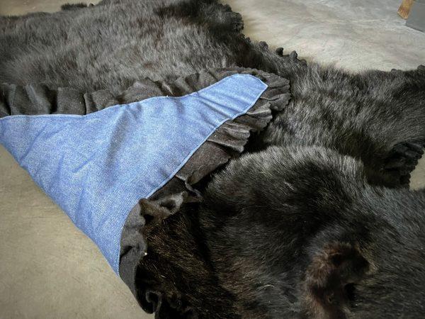 Huid van een zwarte beer XL