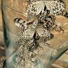 Antieke stolp met vlinders (Idea Leuconoe)