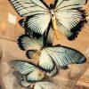 Antike Glocke mit Schmetterlingen (Papilio Zalmoxis)