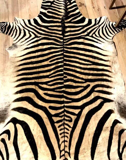 Uitstekende kwaliteit zebrahuid