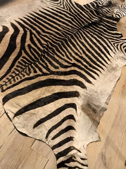 Super Qualität Zebrafell