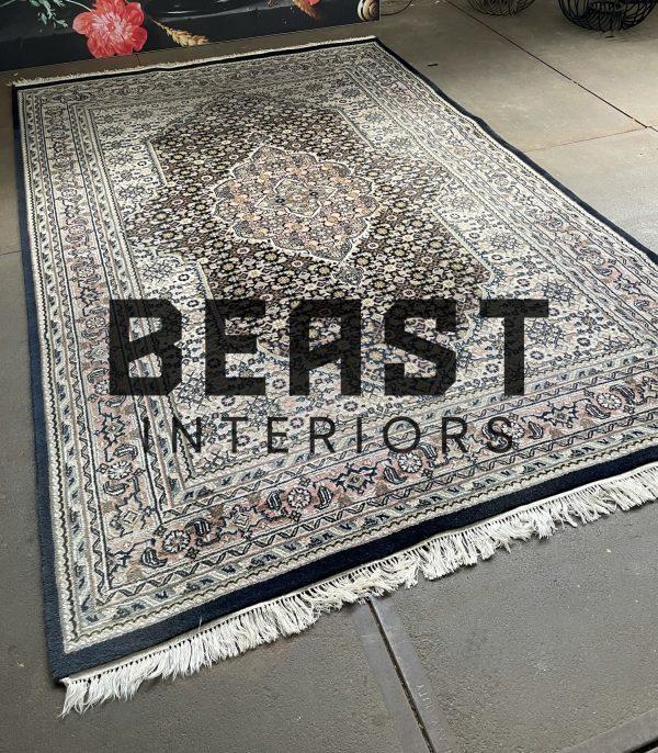 Handgeknoopt Bidjar Herati perzisch tapijt