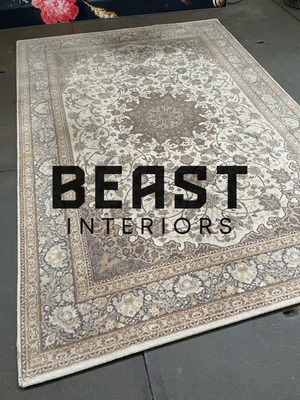 Oosters vloerkleed / perzisch tapijt wol nain klassiek vintage