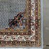 Mooie vintage kostbare origineel fraaie handgeknoopt sarouk mir perzisch tapijt