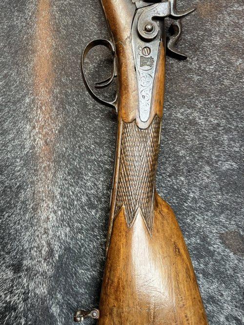 Antiek decoratief jachtgeweer