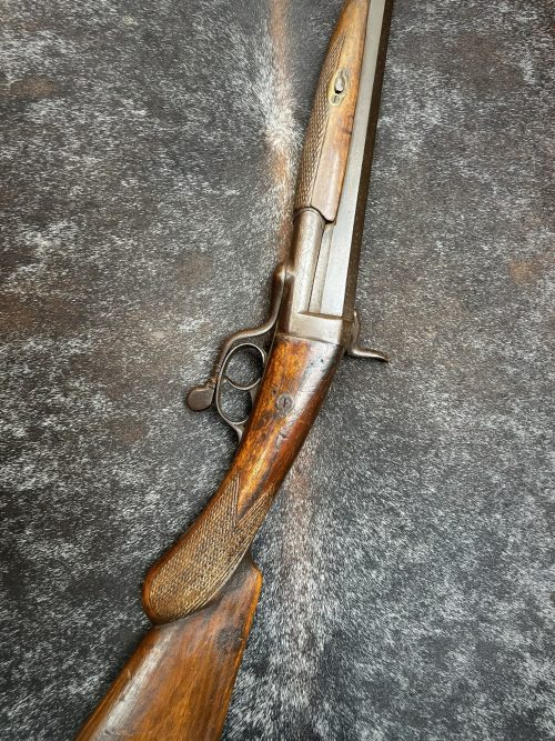 Jachtgeweer antiek, ter decoratie
