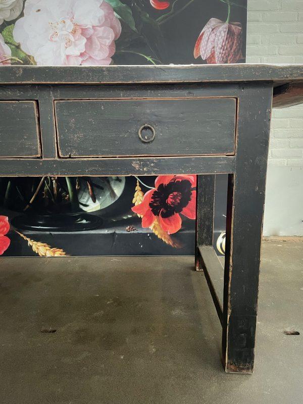 Antieke dressoir, ladenblok