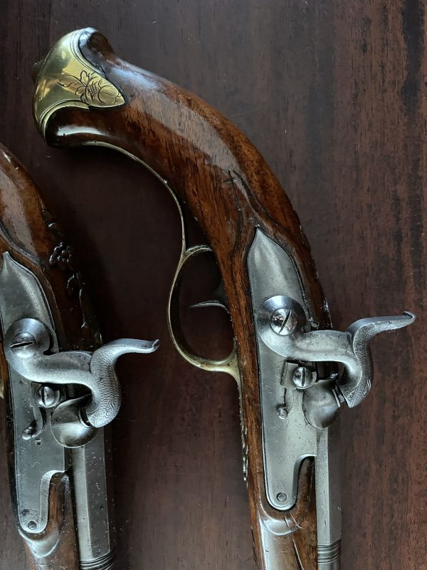 Koppel percussie pistolen