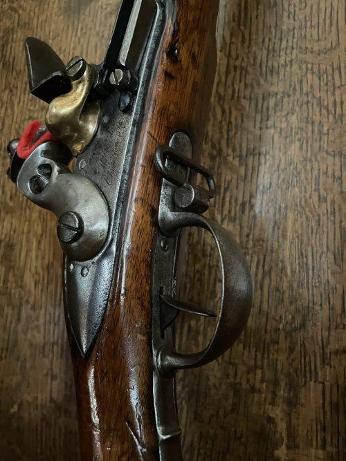 Zeldzame uitvoering van een origineel vuursteengeweer